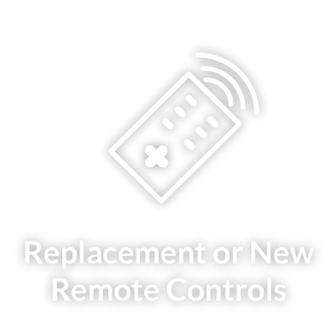 Replacement or New Remote Controls